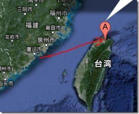 アモイから台北