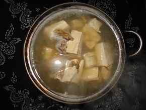 豆腐の煮込み